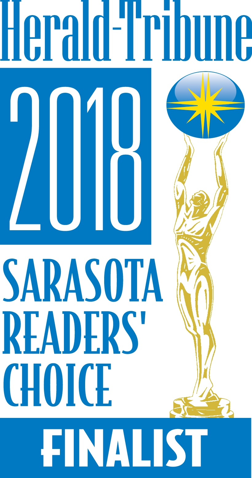 Sarasota Readers' Choice Finalist Award