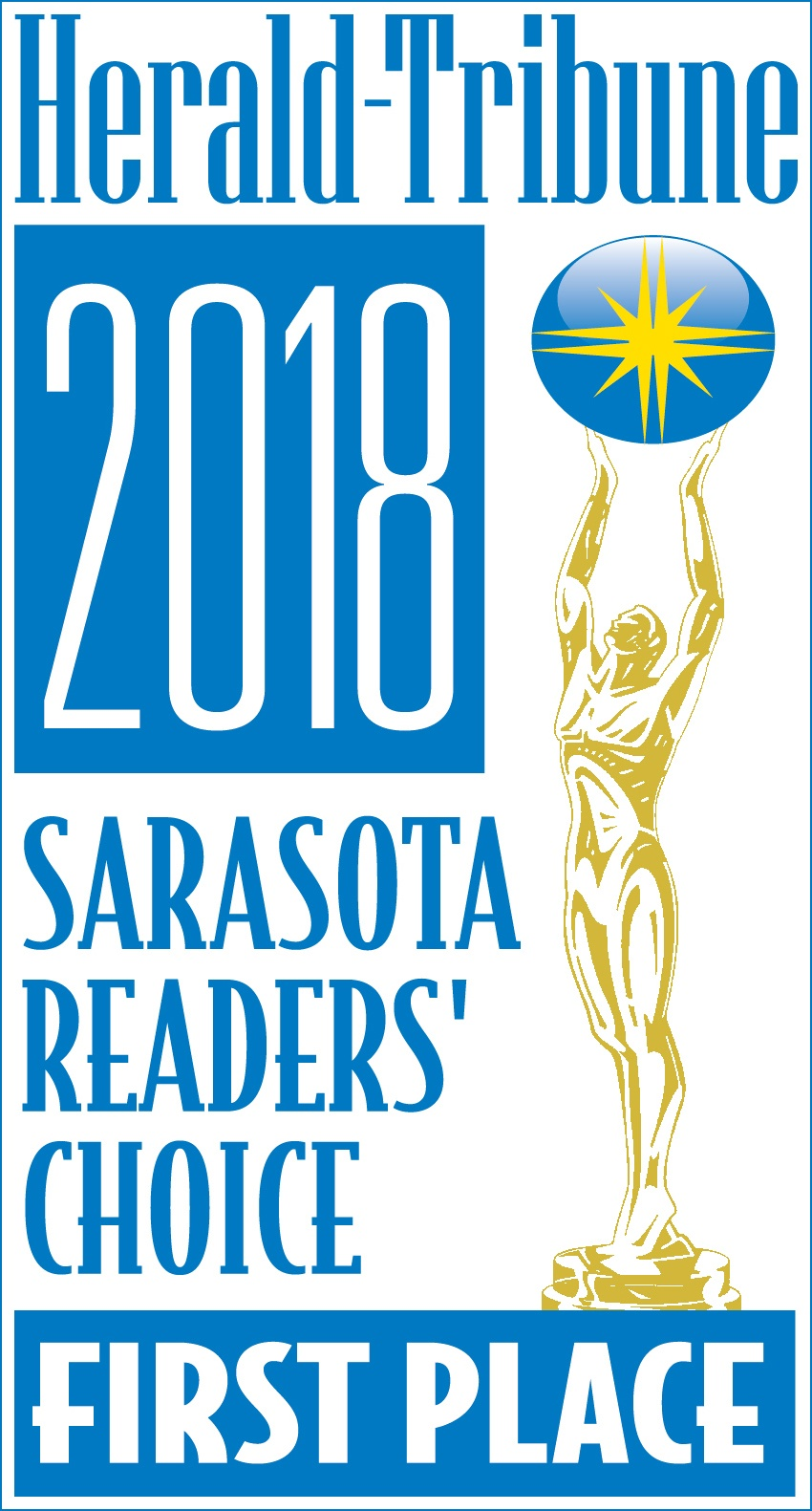 Sarasota Readers' Choice Finalist Winner